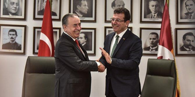 Ekrem İmamoğlu'ndan Galatasaray Spor Kulübü'ne ziyaret