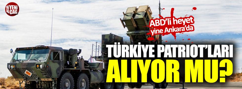 ABD Patriot için yine Ankara'da