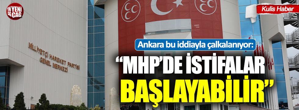 """""""MHP'de istifalar başlayabilir"""""""