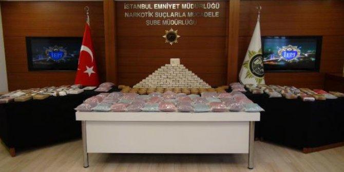 Lüks rezidansta: 38 milyon liralık uyuşturucu ele geçirildi