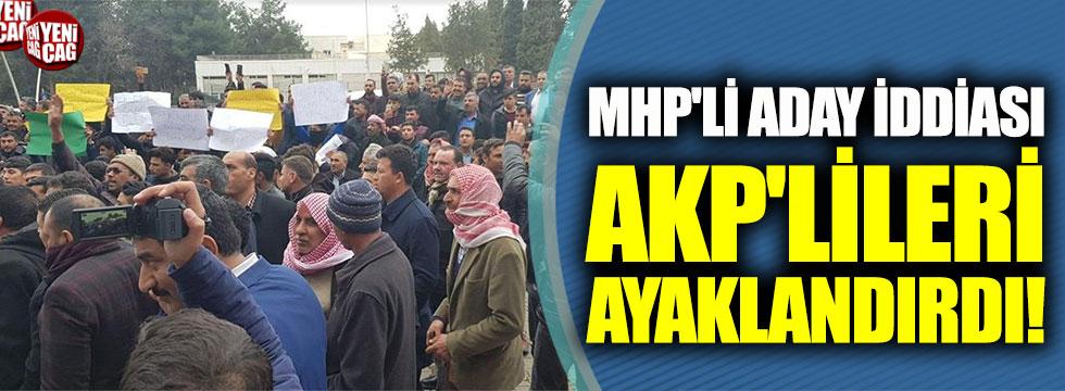 MHP'li aday iddiası AKP'lileri ayaklandırdı!