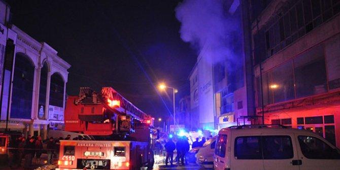 Ankara'da yangın faciası: 5 işçi öldü