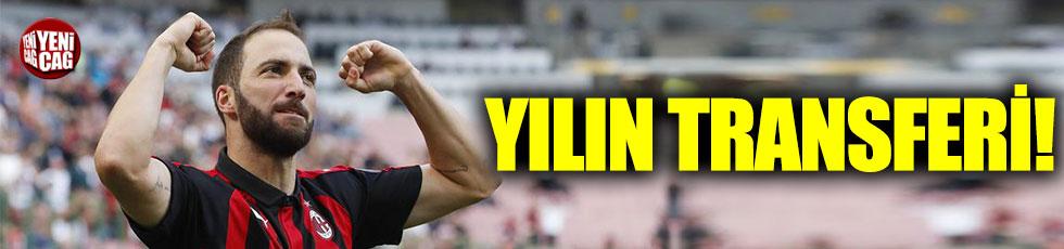 Gonzalo Higuain Chelsea'ye gidiyor!