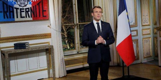 Macron'dan flaş Suriye açıklaması!
