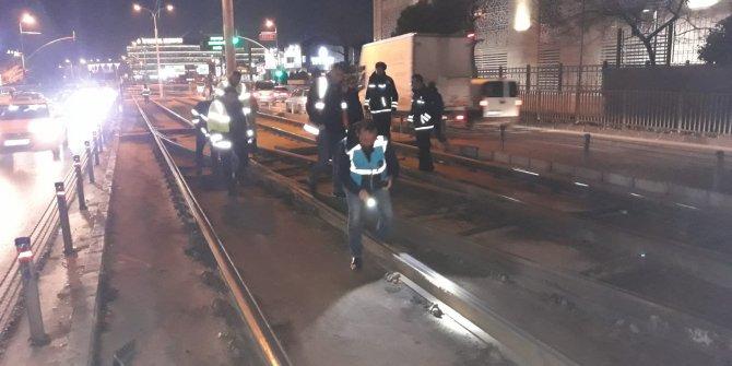 İstanbul tramvay seferlerinde aksama
