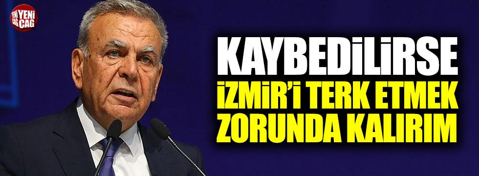 """Aziz Kocaoğlu: """"İzmir kaybedilirse, kenti terk etmek zorunda kalırım"""""""