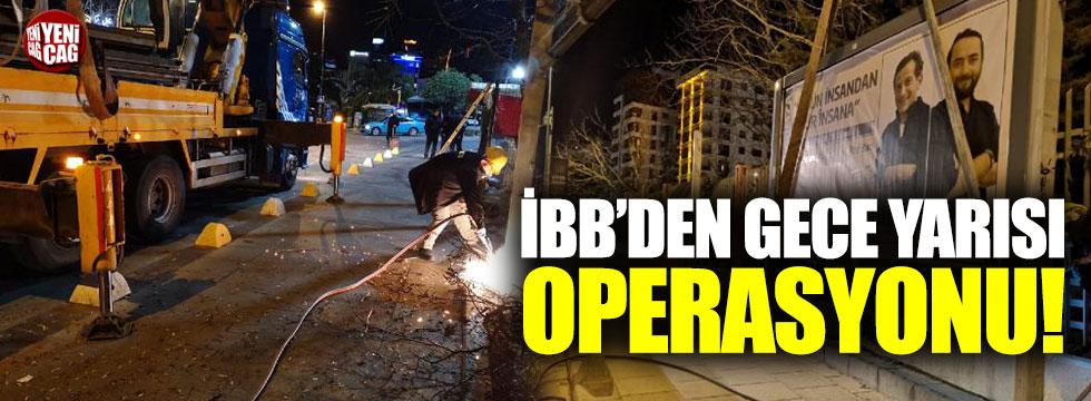 CHP'li belediyenin bilboardlarını İBB kaldırdı