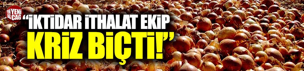 """CHP'li Gökçel: """"Hükümet ithalat ekip kriz biçiyor"""""""