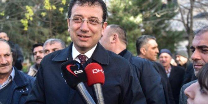 """İmamoğlu'ndan Binali Yıldırım çıkışı: """"Benim için seçim bitmiştir"""""""