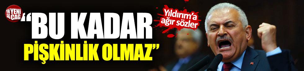"""İYİ Parti'den Binali Yıldırım'a sert tepki: """"Pişkinlik"""""""