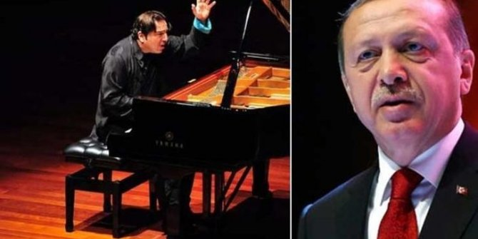 Erdoğan, Fazıl Say konserinde