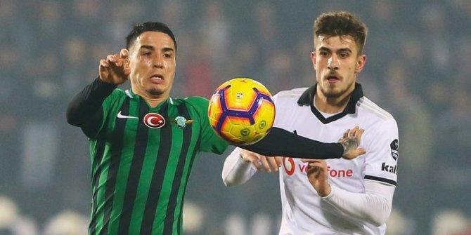 Akhisarspor-Beşiktaş maçında kural ihlali