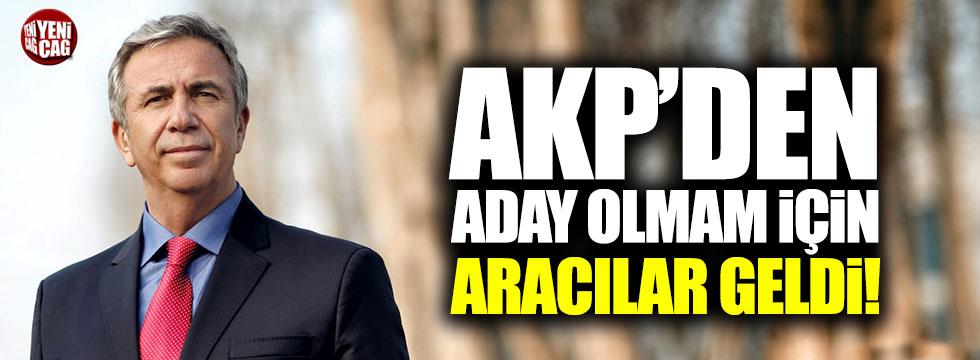 """Mansur Yavaş: """"AKP'den aday olmam için aracılar geldi!"""""""