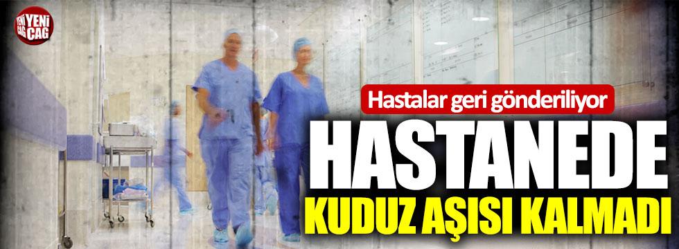 Eskişehir'de hastanelerde kuduz aşısı yok!