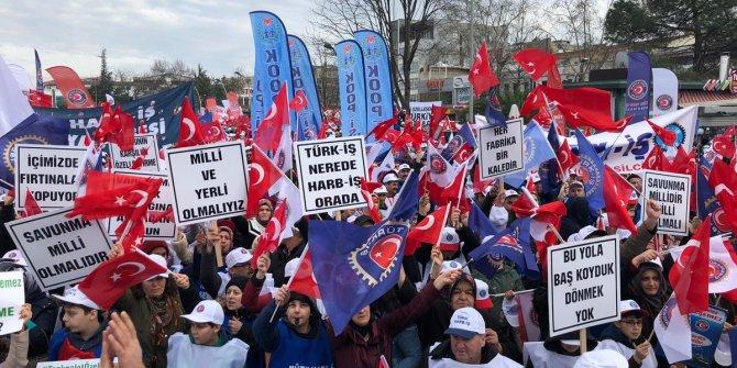 Tank Palet Fabrikasının satışına binlerce vatandaş tepki gösterdi