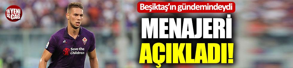 Beşiktaş'ın gündemindeki Pjaca'nın menajerinden açıklama