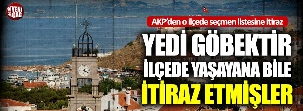 AKP'den seçmen listesine itiraz: Yedi göbektir ilçede yaşayan bile listede