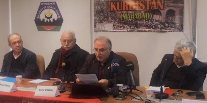 PKK yandaşlarından Diyarbakır'da skandal konferans