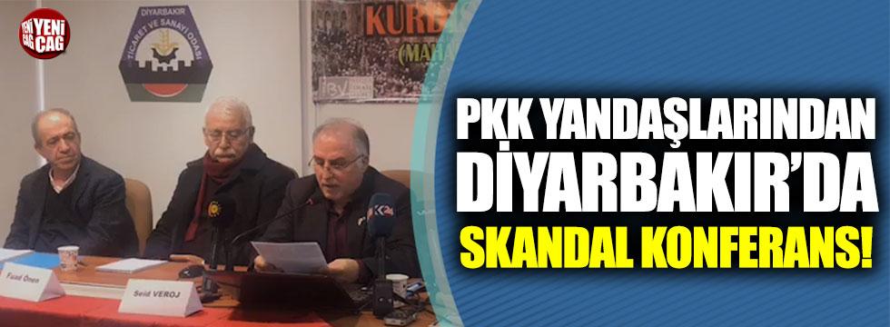 Diyarbakır'da sözde Kürdistan toplantısı