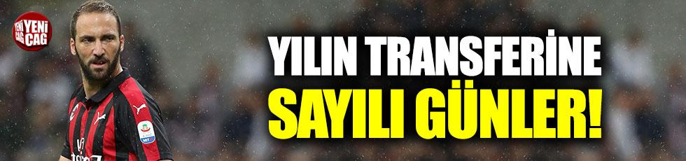 Higuain Chelsea için gün sayıyor