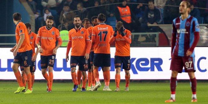 Başakşehir, Trabzonspor'u 4 golle geçti
