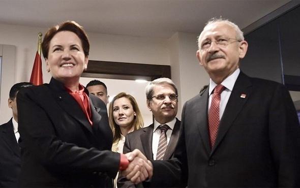 Meral Akşener ve Kemal Kılıçdaroğlu'ndan sürpriz görüşme