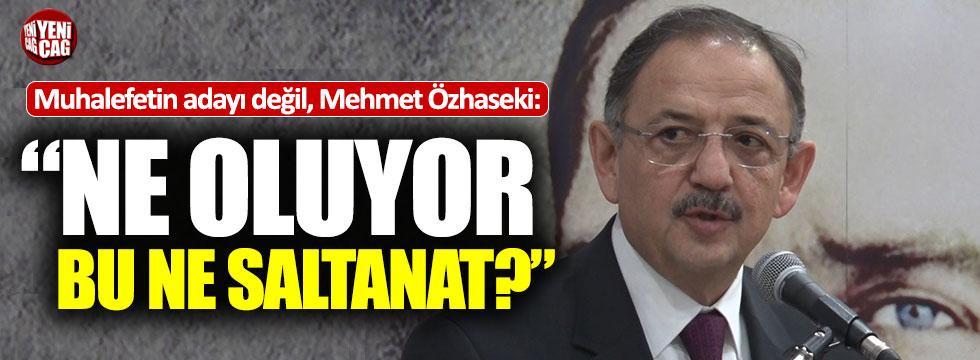 Mehmet Özhaseki'den ilginç makam aracı çıkışı