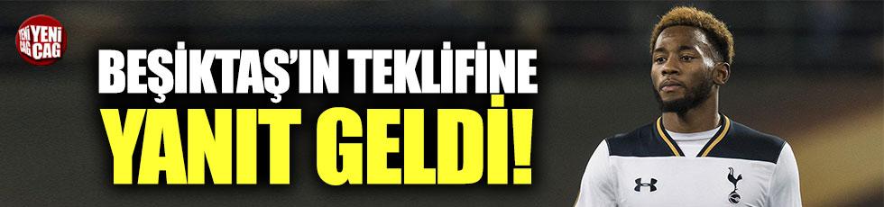 Beşiktaş'tan Tottenham'a N'Koudou yanıtı
