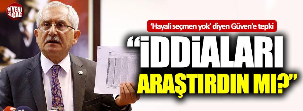 İYİ Parti'den YSK Başkanı Sadi Güven'e tepki!