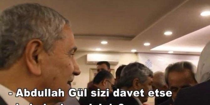 Bülent Arınç'tan Abdullah Gül cevabı!
