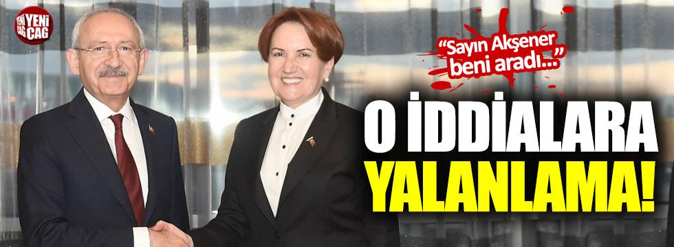 İYİ Parti-CHP iş birliğinde 'Üsküdar krizi' iddialarına yalanlama
