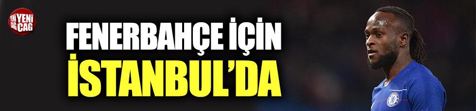 Victor Moses Fenerbahçe için İstanbul'da