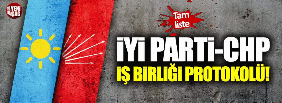 İYİ Parti CHP işbirliğinin detayları belli oldu