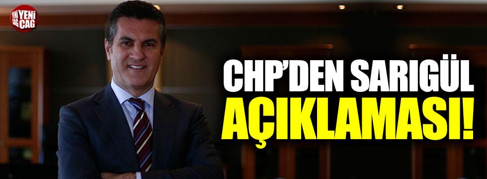 CHP'den Mustafa Sarıgül açıklaması!