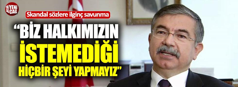 AKP'li İsmet Yılmaz kendini savundu