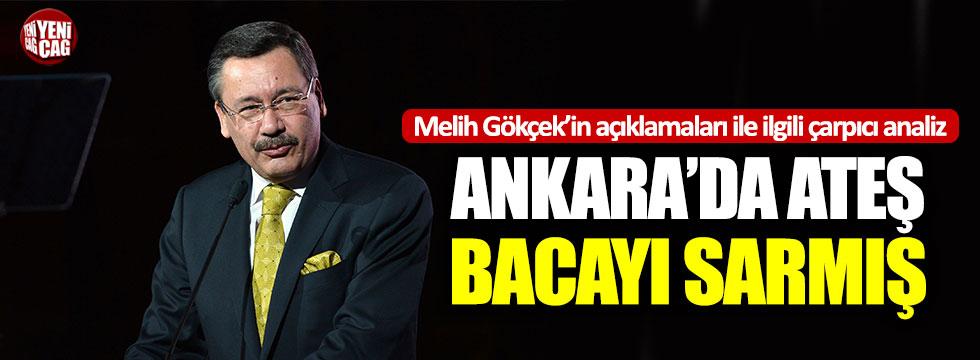 Ankara'da ateş bacayı sarmış