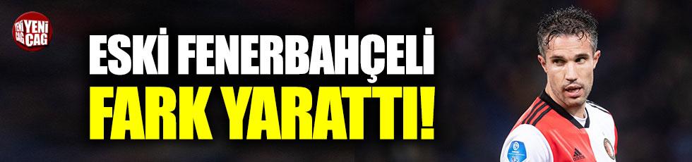 Eski Fenerbahçeli Van Persie fark yarattı!