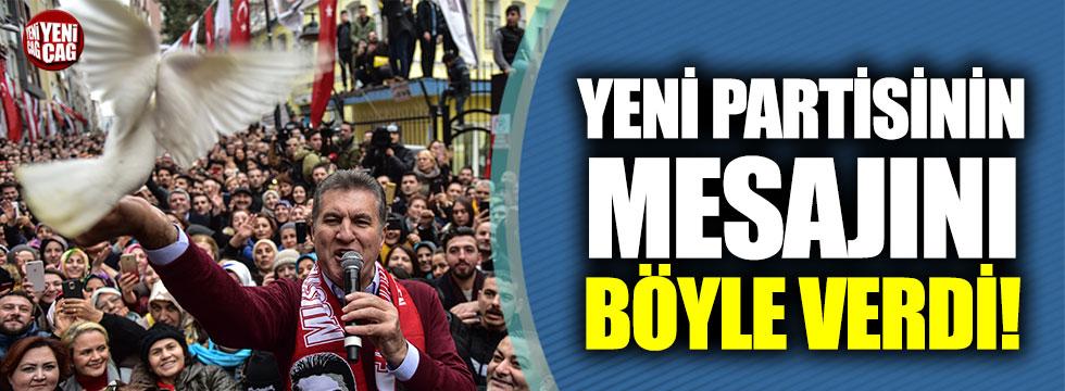 Mustafa Sarıgül, yeni partisinin mesajını böyle verdi