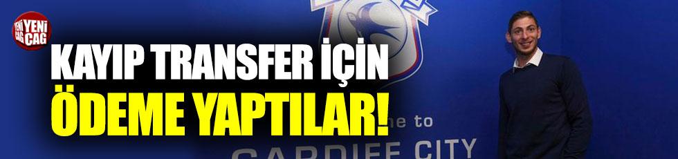 Cardiff, Emiliano Sala için ödeme yaptı