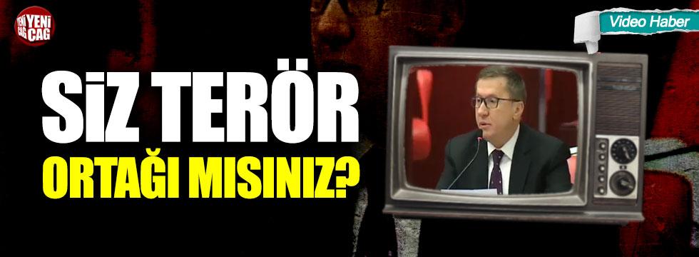 """İYİ Partili Lütfü Türkkan'dan AKP'ye: """"Siz terör ortağı mısınız?"""""""