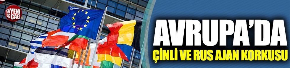 Avrupalı diplomatlara 'Çinli ve Rus ajan' uyarısı