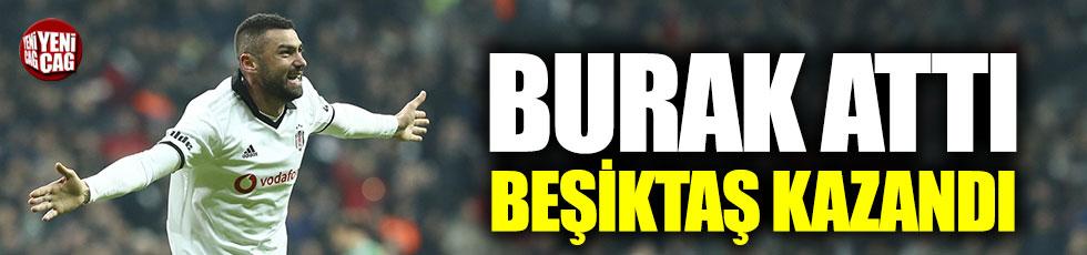 Beşiktaş, Burak Yılmaz ile kazandı