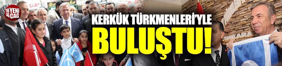 Mansur Yavaş Kerkük Türkmenleri'yle buluştu