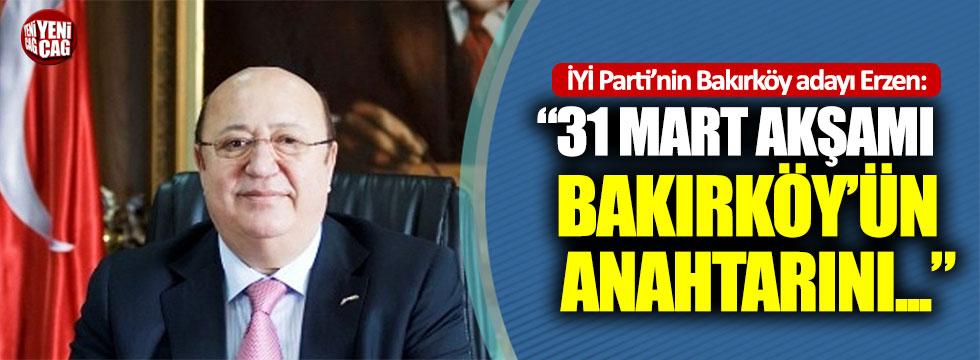 İYİ Parti, Bakırköy adayı Ateş Ünal Erzen'i tanıttı