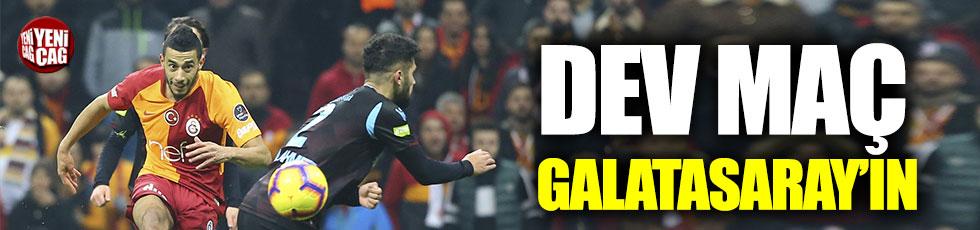 Galatasaray'dan Trabzonspor karşısında 3 gollü galibiyet