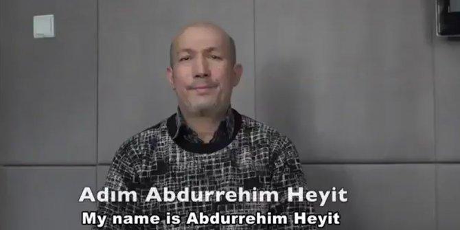 """""""Abdurehim Heyit hayatta"""" iddiası"""