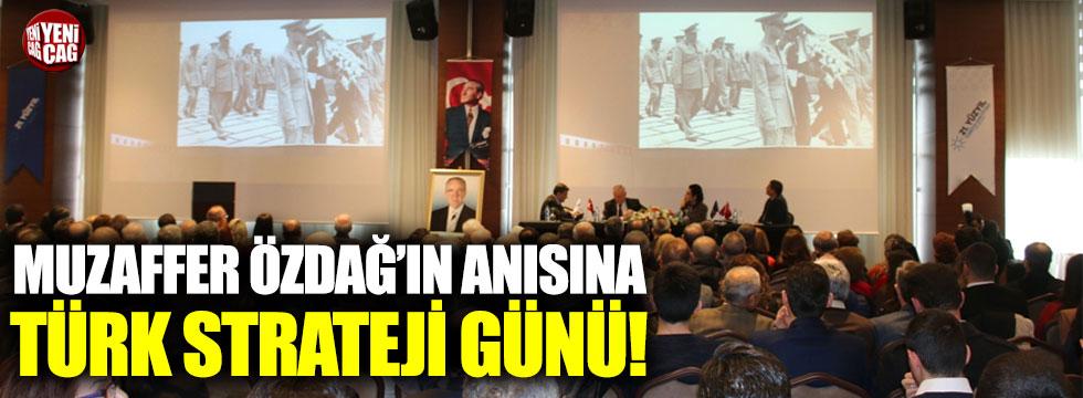 16. Türk Strateji Günü gerçekleşti