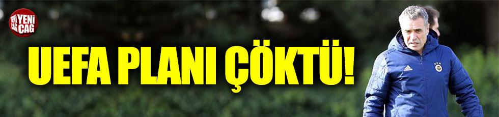 Fenerbahçe'nin UEFA planı tutmadı