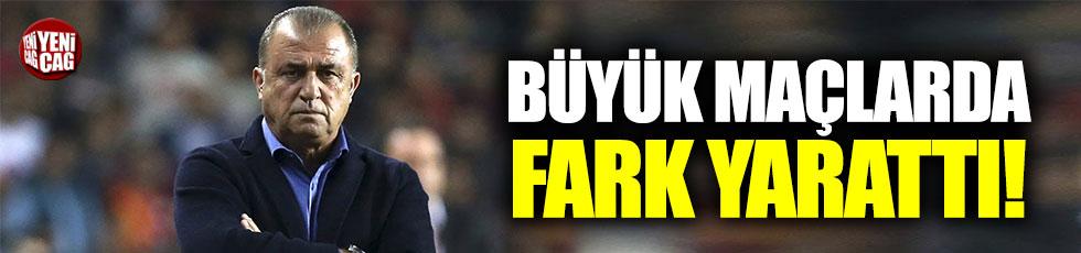 Galatasaray, Fatih Terim ile çok farklı