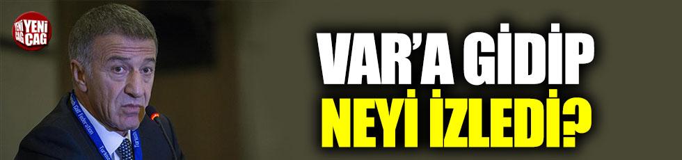 """Ahmet Ağaoğlu: """"Hakem VAR'a gidip neyi izledi"""""""